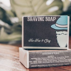 Shaving Soap Tea Tree & Clay