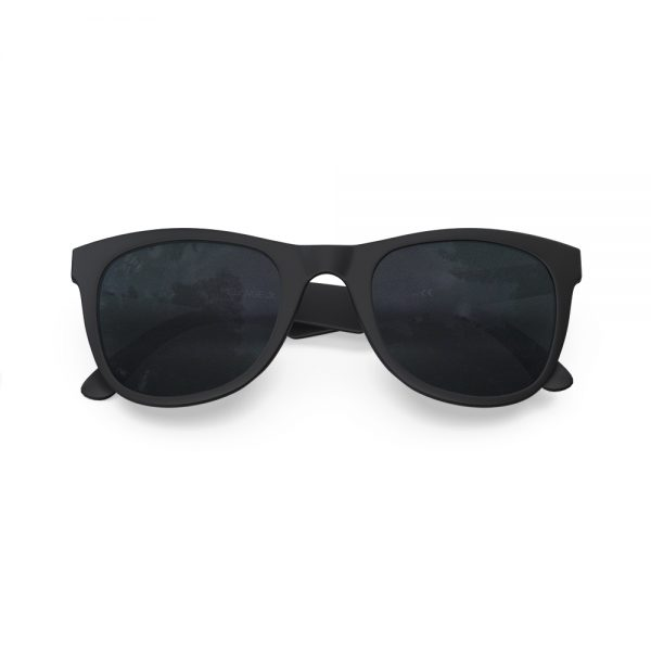 Mariener Melange Jr Matte Black Dark Smoke Kids Sunglasses Zwart Kinderzonnebril Overview